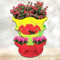 گلدان طبقاتی