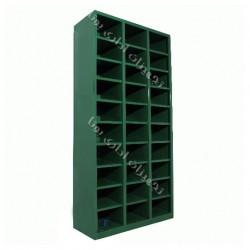 جاکفشی فلزی 30 سلول (بدون درب 30 خانه)