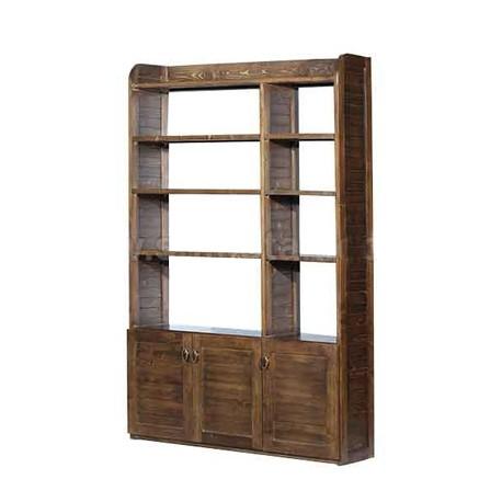 کتابخانه تمام چوب عاج