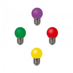 لامپ ال ای دی حبابدار رنگی تزئینی