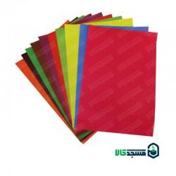 بسته 10 عددی کاغذ رنگی