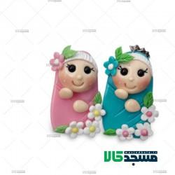 جاسوئیچی عروسک خمیری